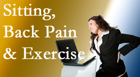 Fort Wayne Chiropractic Radiological Center urges less sitting and more exercising to combat back pain and other pain issues.