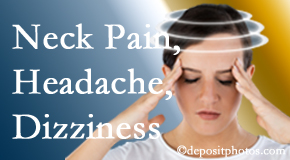 Cox Chiropractic Medicine INC helps decrease neck pain and dizziness and related neck muscle issues.