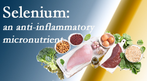 Cox Chiropractic Medicine Inc shares details about the micronutrient, selenium, and the detrimental effects of its deficiency like inflammation.