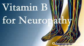 Fort Wayne Chiropractic Radiological Center recognizes the benefits of nutrition, especially vitamin B, for neuropathy pain along with spinal manipulation.