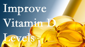Fort Wayne Chiropractic Radiological Center explains that it's beneficial to raise vitamin D levels.