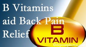 Fort Wayne Chiropractic Radiological Center may include B vitamins in the Fort Wayne chiropractic treatment plan of back pain sufferers.
