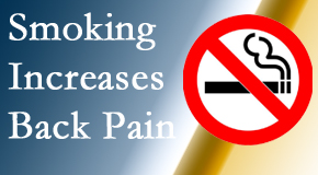 Fort Wayne Chiropractic Radiological Center explains that smoking heightens the pain experience especially spine pain and headache.