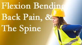 Cox Chiropractic Medicine INC helps workers with their low back pain because of forward bending, lifting and twisting.