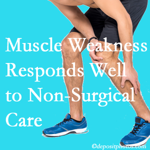 Fort Wayne chiropractic non-surgical care manytimes improves muscle weakness in back and leg pain patients.
