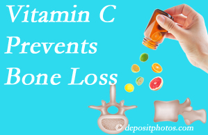Fort Wayne Chiropractic Radiological Center may suggest vitamin C to patients at risk of bone loss as it helps prevent bone loss.