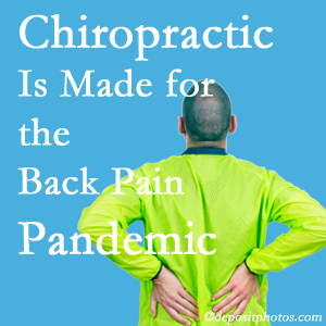 Fort Wayne chiropractic care at Cox Chiropractic Medicine INC is prepared for the pandemic of low back pain.