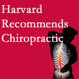 Cox Chiropractic Medicine Inc offers chiropractic care like Harvard recommends.