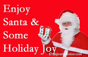 Fort Wayne holiday joy and even fun with Santa are analyzed as to their potential for preventing divorce and increasing happiness.