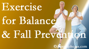 Fort Wayne chiropractic care of balance for fall prevention involves stabilizing and proprioceptive exercise.