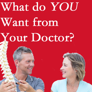 Fort Wayne chiropractic at Cox Chiropractic Medicine Inc includes examination, diagnosis, treatment, and listening!