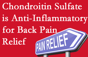 Fort Wayne chiropractic treatment plan at Cox Chiropractic Medicine Inc may well include chondroitin sulfate!