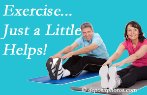 Cox Chiropractic Medicine Inc encourages exercise for better physical health as well as reduced cervical and lumbar pain.