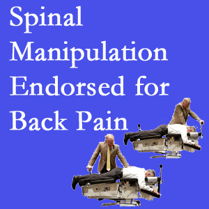 Fort Wayne chiropractic care includes spinal manipulation, an effective,  non-invasive, non-drug approach to low back pain relief.