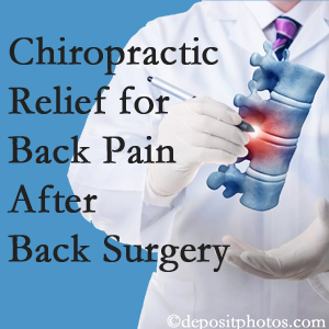 Fort Wayne Chiropractic Radiological Center offers back pain relief to patients who have already undergone back surgery and still have pain.