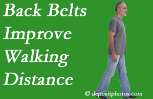 Fort Wayne Chiropractic Radiological Center sees value in recommending back belts to back pain sufferers.