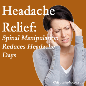 Fort Wayne chiropractic care at Fort Wayne Chiropractic Radiological Center may reduce headache days each month.