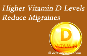 Fort Wayne Chiropractic Radiological Center shares a new paper that higher Vitamin D levels may reduce migraine headache incidence.